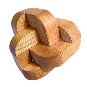 Головоломка деревянная «Загогулина»