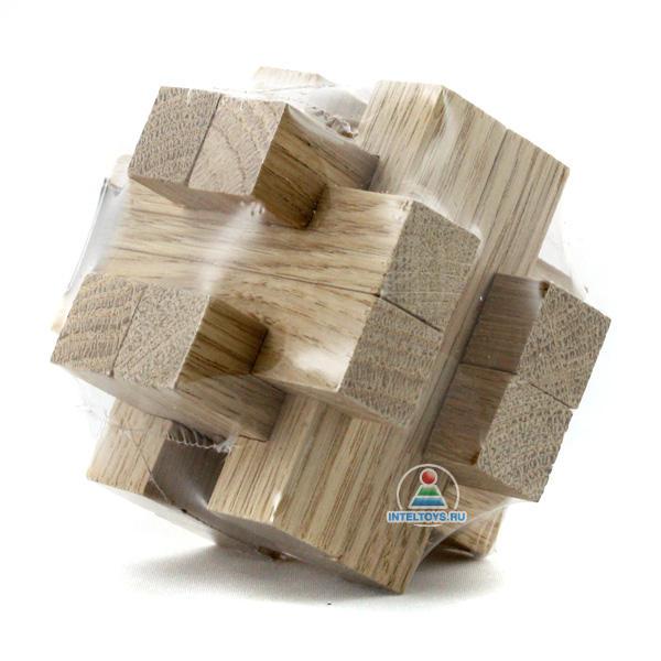 Головоломка деревянная «Копилка»