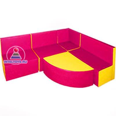 Мягкая мебель для детского сада угловая «Уютный уголок» купить в Москве, Нижнем Новгороде, СПб, Казани
