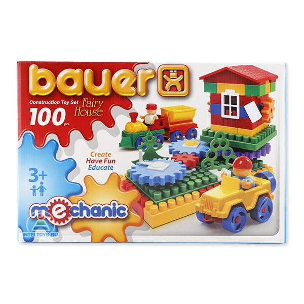 Конструктор Bauer (Бауэр) Mechanic Fairy House (Механик «Избушка»), 100 элементов