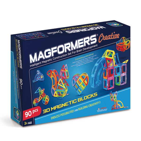 Магнитный конструктор Magformers (Магформерс) Creative, 90 деталей