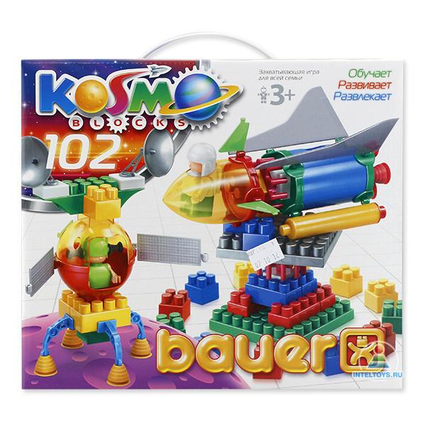 Конструктор Bauer (Бауэр) «Космос» (102 элемента)