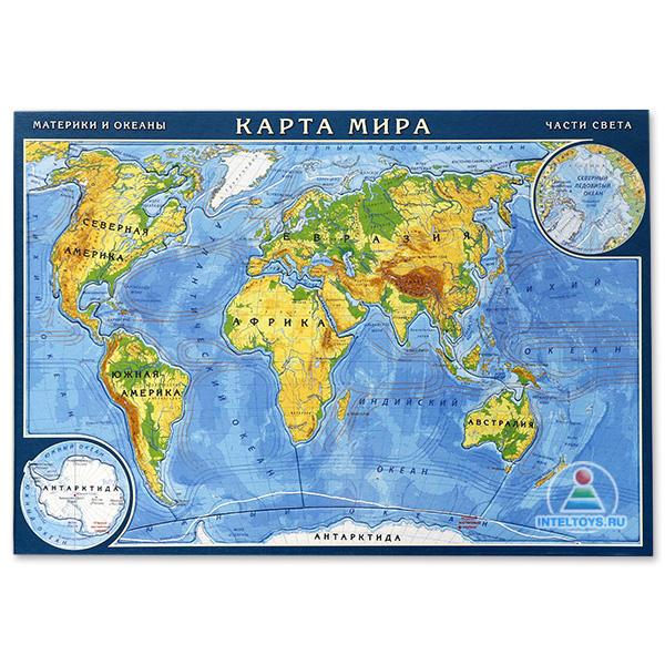 Пазл «Карта мира» купить в Москве, Нижнем Новгороде, СПб, Казани