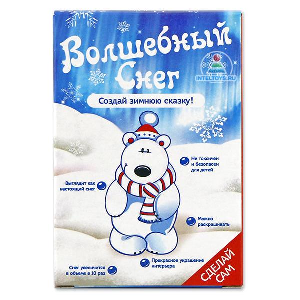 Набор «Волшебный снег» Magic Snow (Меджик Сноу) Мишка