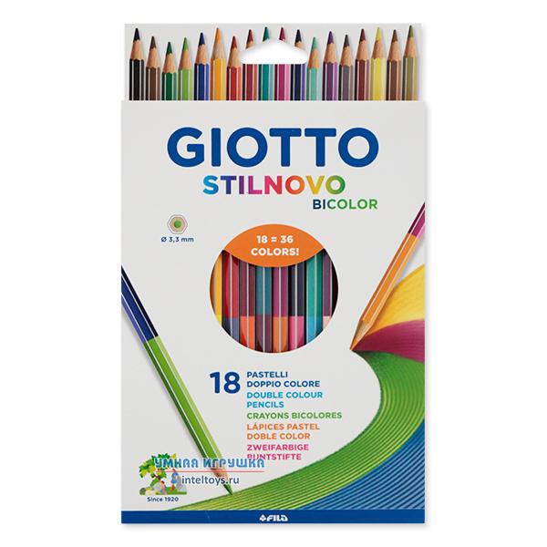 Цветные карандаши 36 цветов «Giotto Stilnovo», Fila (Фила)