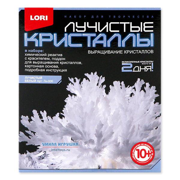 Белые лучистые кристаллы, Lori (Лори)