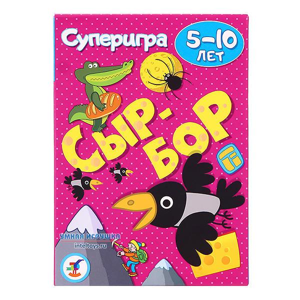 Карточная игра «Сыр-бор», Дрофа-Медиа, 5-10 лет