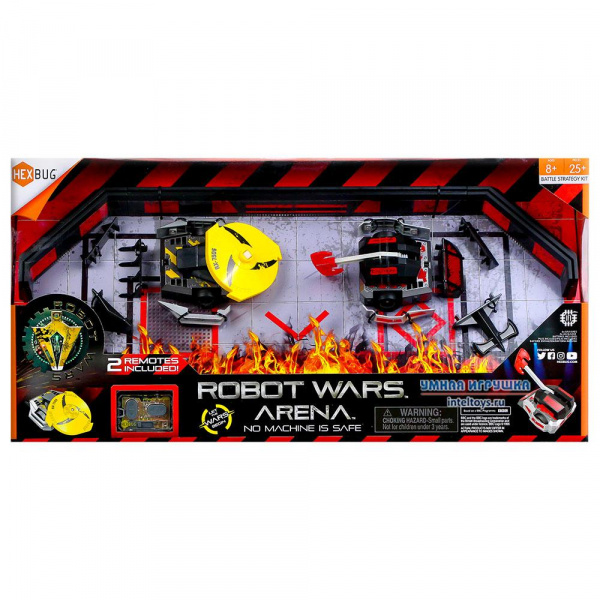 Набор Hexbug «Поединки роботов – Ближний бой Арена», Хексбаг