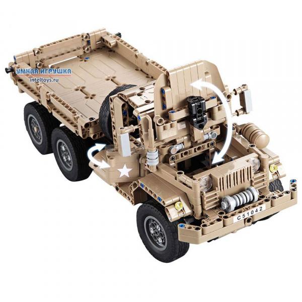 Конструктор Военный грузовик  сайт