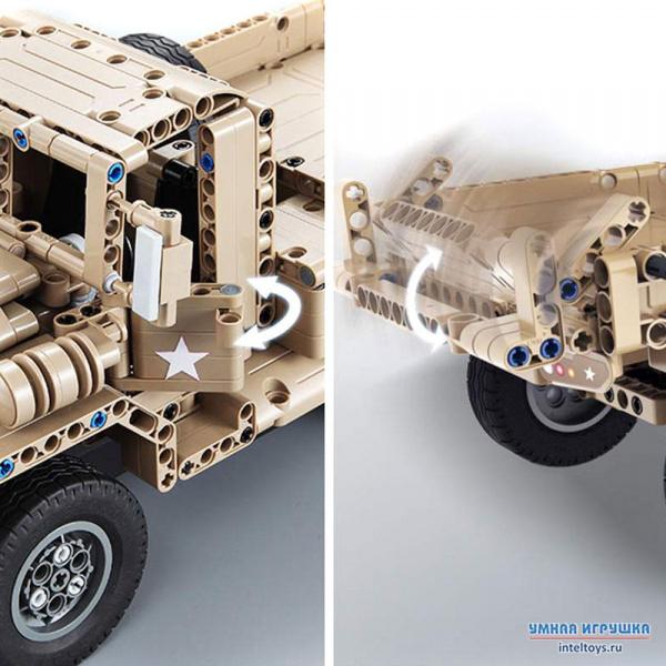 Конструктор Военный грузовик  описание